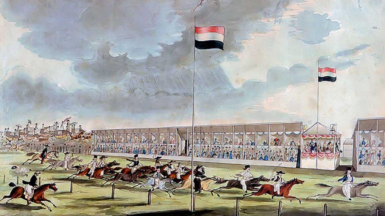 Az első versenyt természetesen a gróf lovai nyerték meg