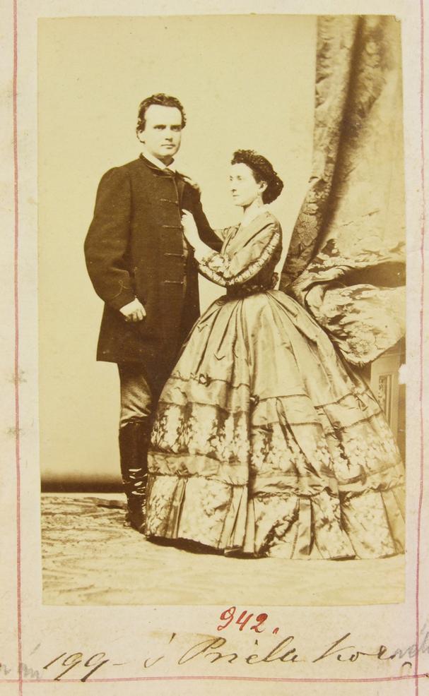 Szerdahelyi Kálmán és felesége, Prielle Kornélia, CC BY-NC-ND