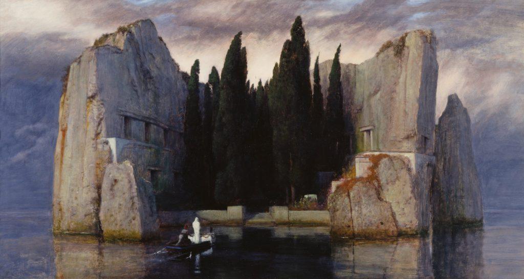 """Halottak szigete, 1883, """"Harmadik változat"""""""