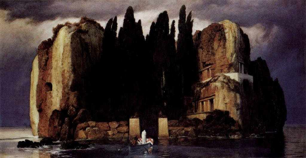 """Halottak szigete, 1886, """"Ötödik változat"""""""