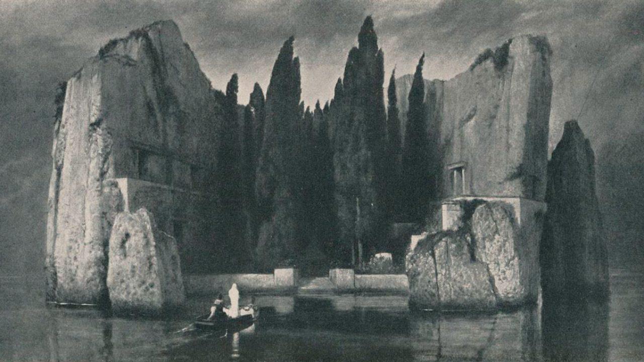 Böcklin és a Halottak szigete