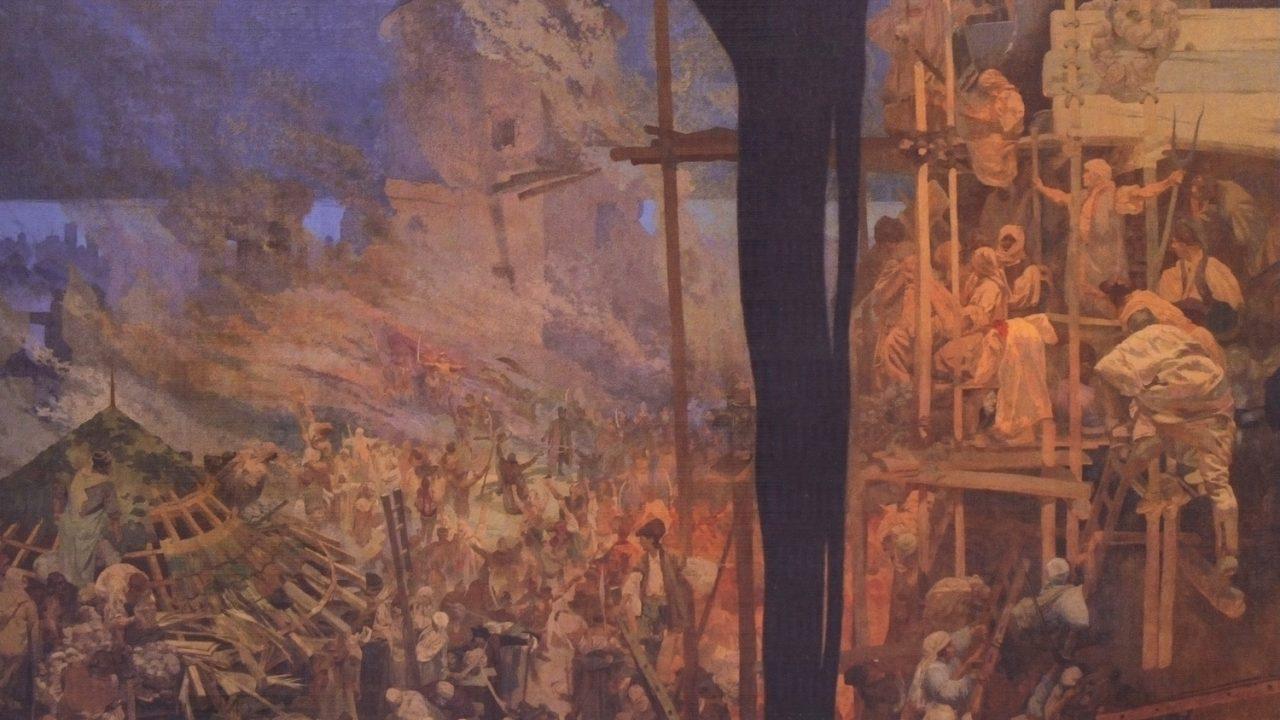 Prágáé a Szláv eposz
