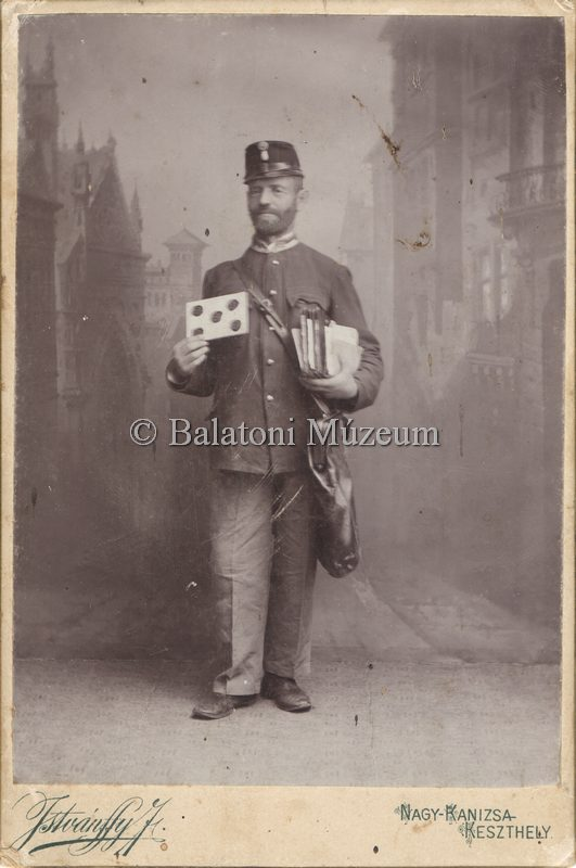 Fülöp Viktor nagyapja, postás (forrás: MaNDA adatbázis)