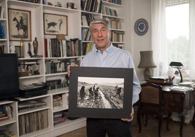 Korniss Péter egyik legismertebb képével (forrás: Magyar Fotográfusok Háza - Mai Manó Ház)