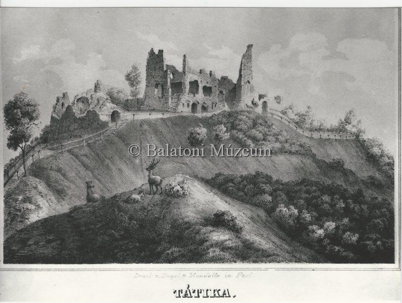 Tátika-vár (forrás: MaNDA adatbázis)