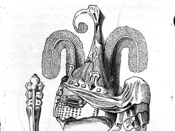 Nagy Lajos sisakdísze (MaNDA adatbázis)