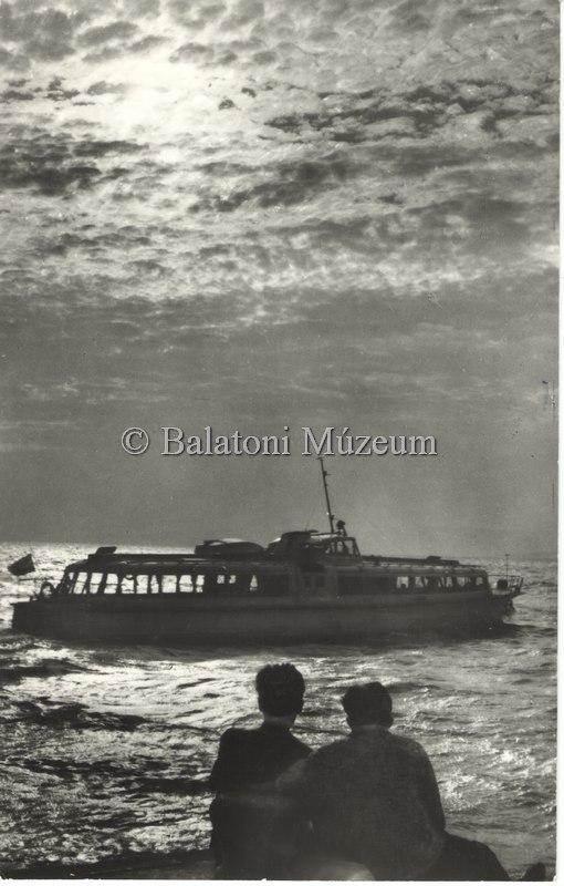 Balatoni képeslap Balla Demetertől