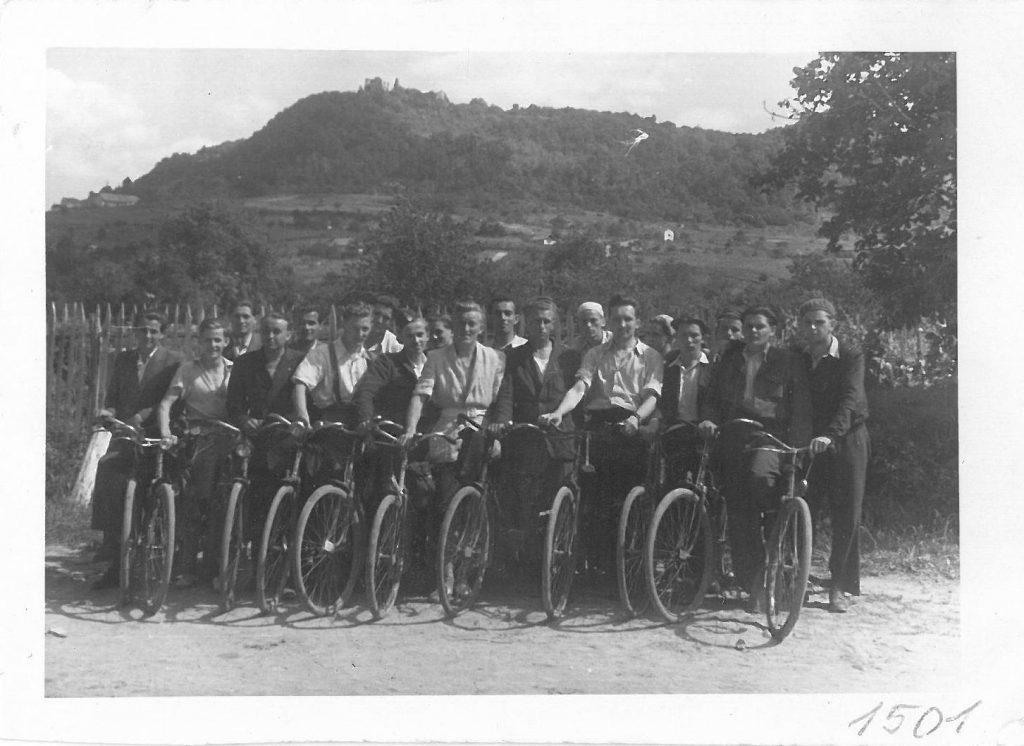 Egy biciklis kirándulás 1948-ból (MaNDA adatbázis)