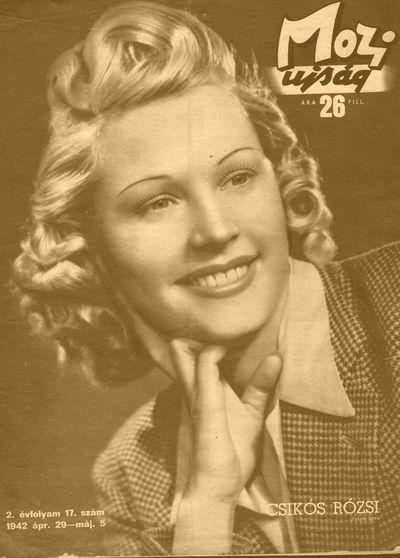 Címlapon 1942-ben (MaNDA adatbázis)