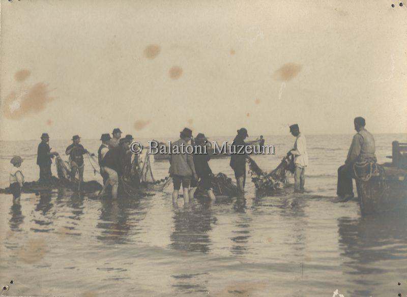 Kerítőháló a part közelében (MaNDA)