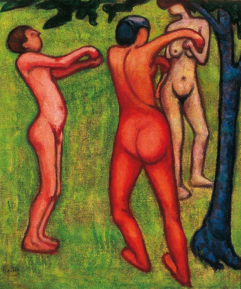Tihanyi Lajos: Táncolók (MaNDA)