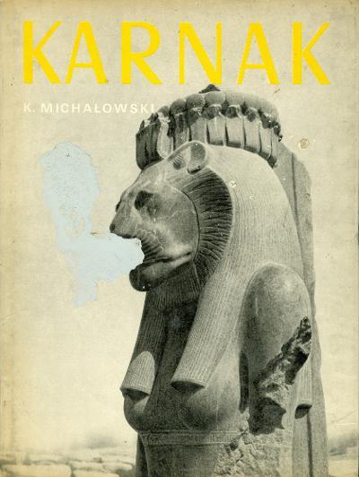 Karnakról szóló album az oroszlánfejű istennővel a borítóján (MaNDA adatbázis)