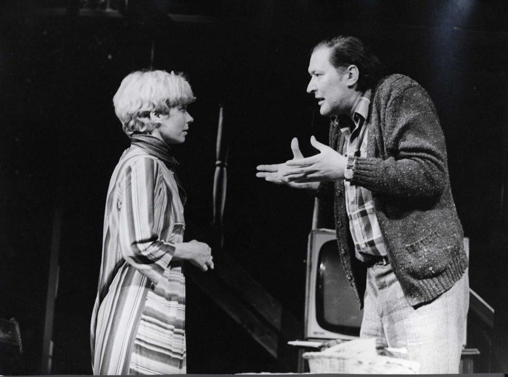 A Várszínházban 1984-ben (MaNDA)