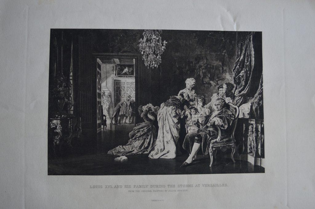 Benczúr Gyula: XVI. Lajos és családja Versailles ostromakor (MaNDA)