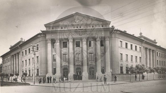 A múzeum épülete régen a a Magyar Királyi Pénzügyigazgatóságnak adott otthont (MaNDA)