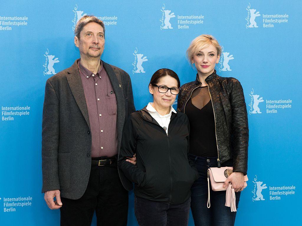 A főszereplők és a rendező Berlinben (Wikipédia)