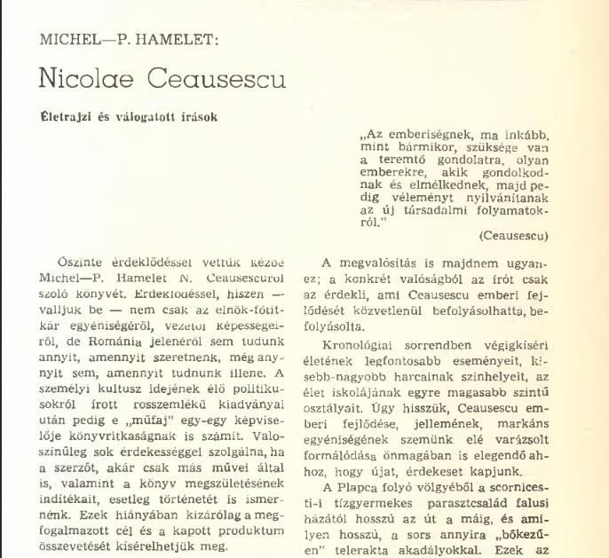 """Könyv a diktátor egyik """"könyvéről"""" (MaNDA)"""
