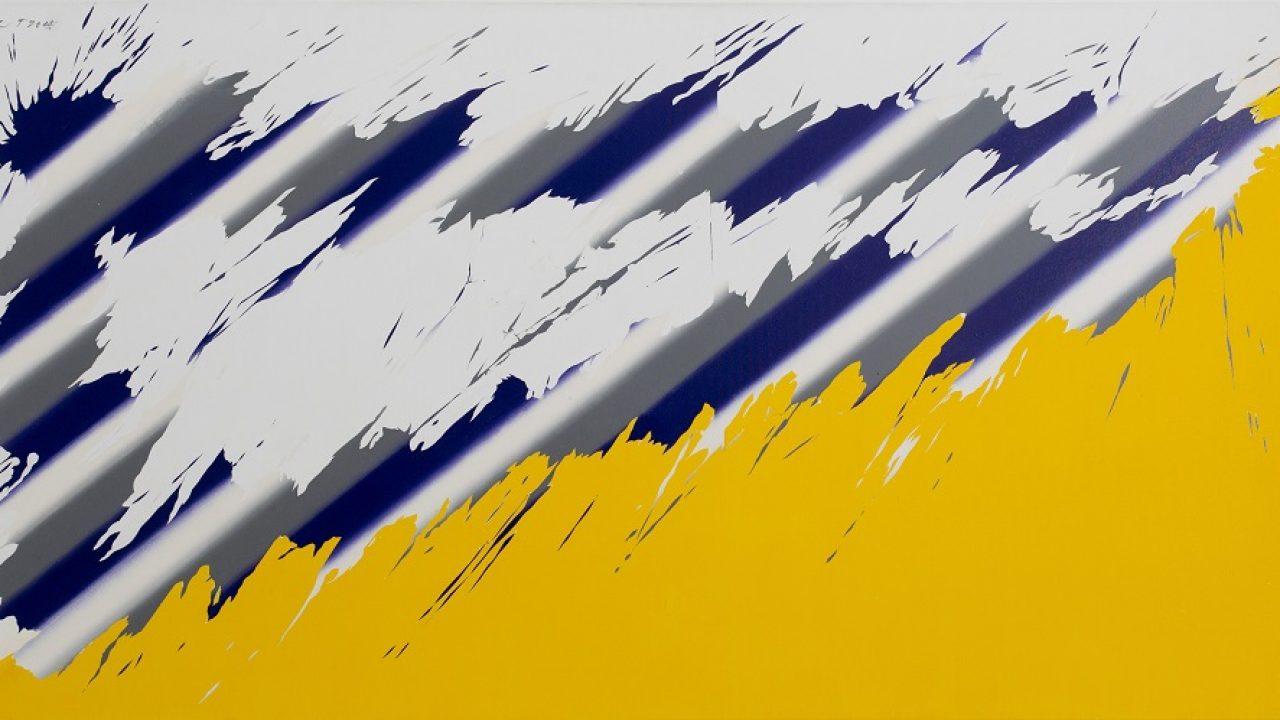 Egyfolytában a festészet határait feszegette