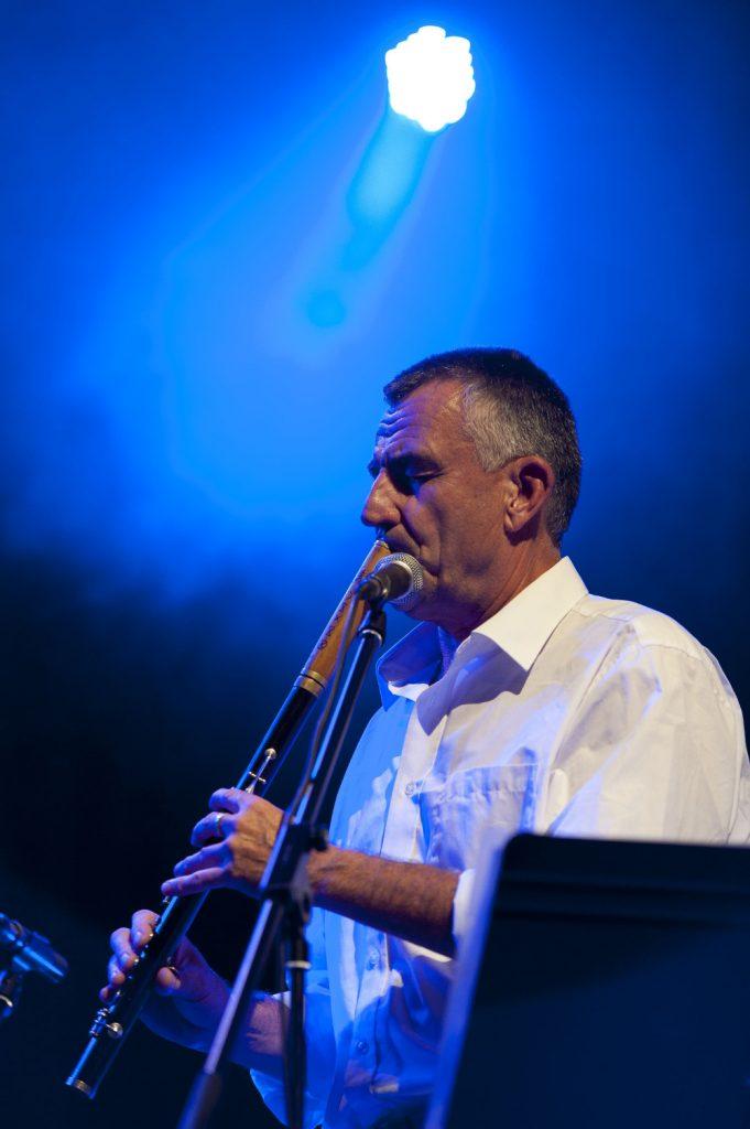 Az egyik fellépő, Dresch Mihály (MaNDA)