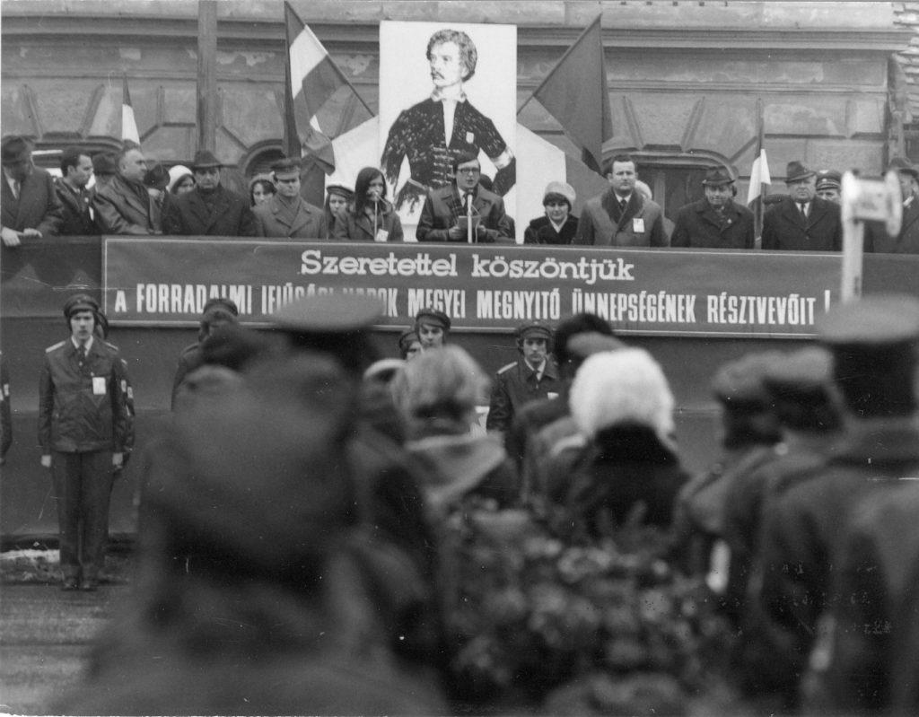 Pápán 1973-ban így ünnepeltek (MaNDA)