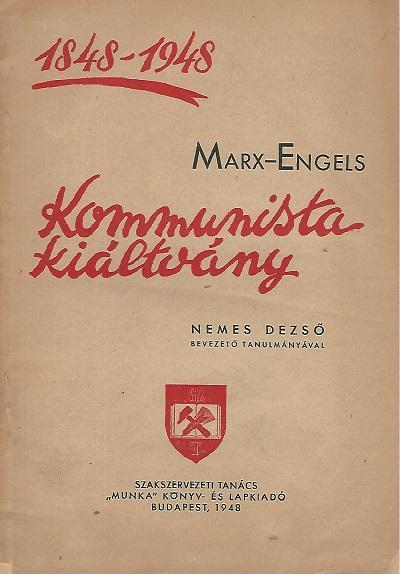 Az 1948-as, jubileumi kiadvány (MaNDA)