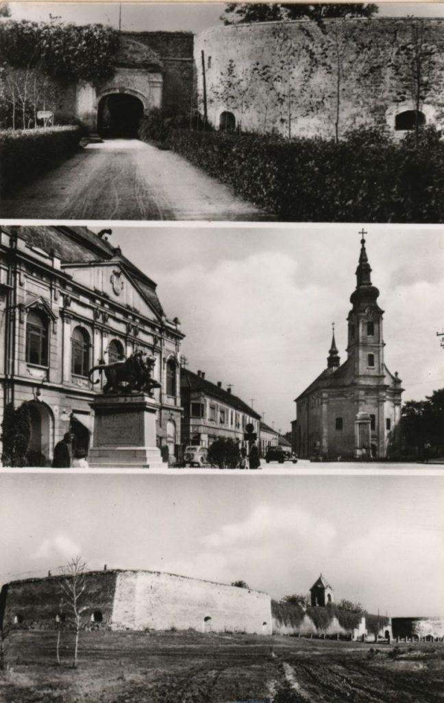 Szigetvár nevezetességei a múlt század 60-as éveiben (MaNDA)