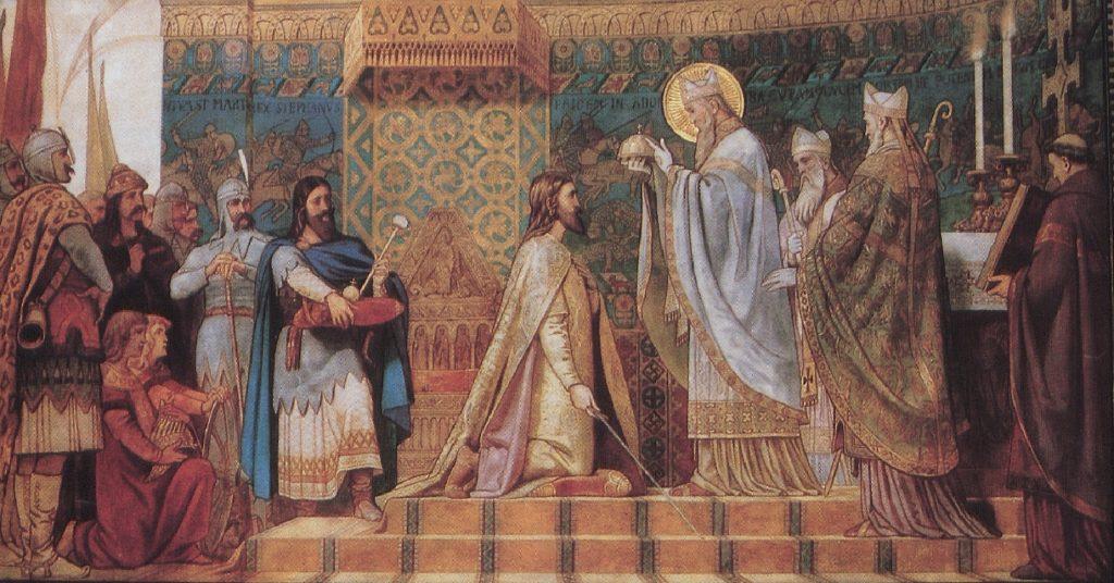 Székely Bertalan freskója a pécsi székesegyházból (MaNDA)