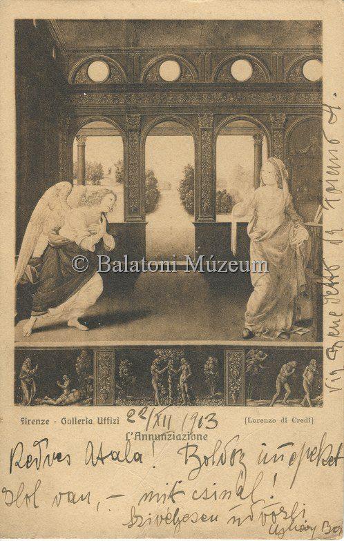 Régi képeslapon a gyűjtemény (MaNDA)