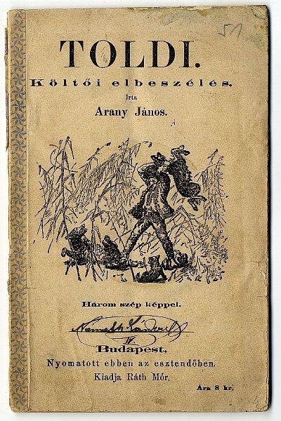 A Toldi az 1800-as évek végéről (MaNDA)
