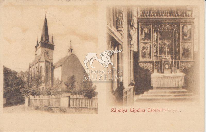 Csütörtökhely gótikus ékszerdoboza (MaNDA)