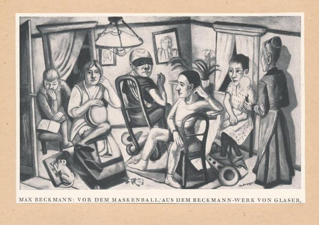 Beckmann munkáinak reprodukcióit itt nézheti meg (MaNDA)