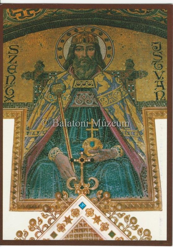 Róth Szent Istvánja, Szent Jobb kápolna Balatonbogláron (MaNDA)