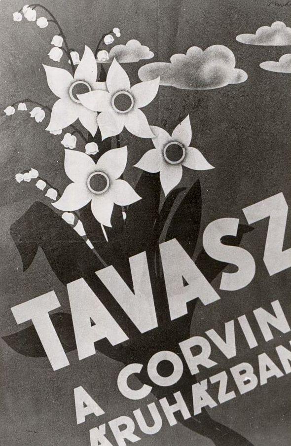 Tavasz a Corvin Áruházban, reklámfotó (1931) - Magyar Kereskedelmi és Vendéglátóipari Múzeum, CC BY-NC-ND