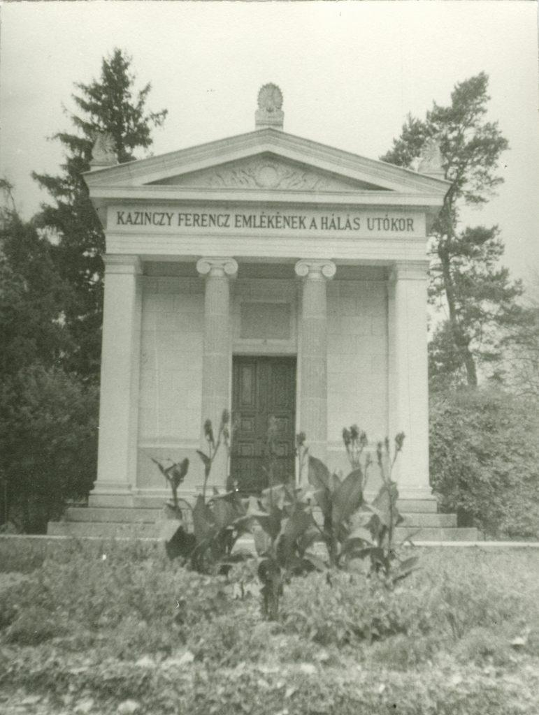 A Kazinczy-mauzóleum 1961-ben (MaNDA)