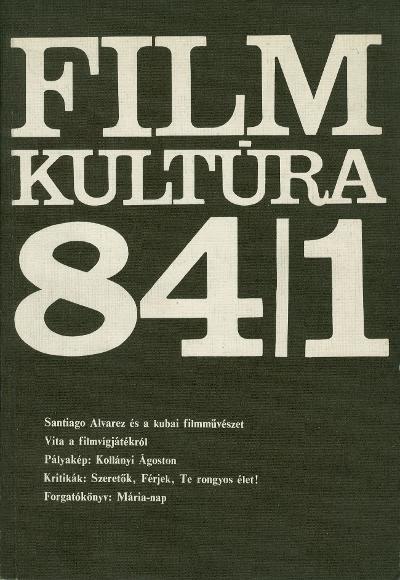 Tanulmány 1981-es, életrajzi ihletésű filmjéről (MaNDA)