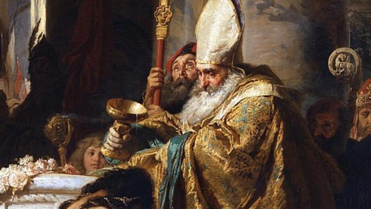 Szobor három mázsa ezüstből a püspöknek
