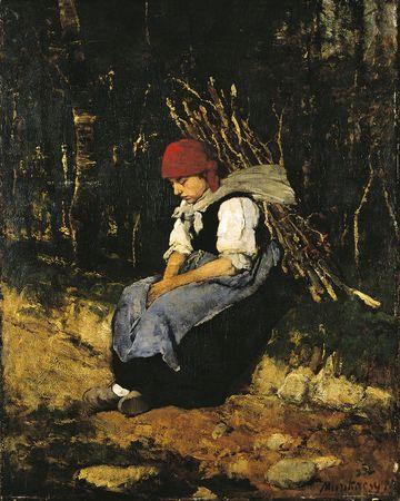 A rőzsehordó nő is az Ermitázsban van (mng.hu)