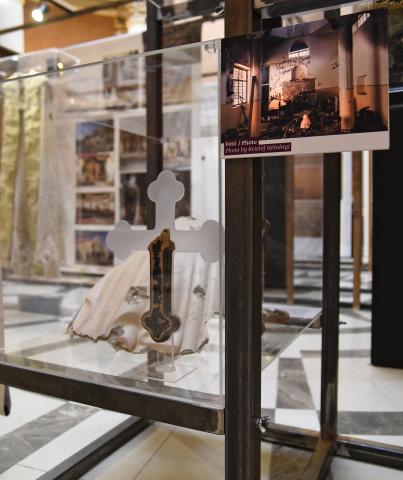 A kiállítás részlete (Magyar Nemzeti Múzeum)