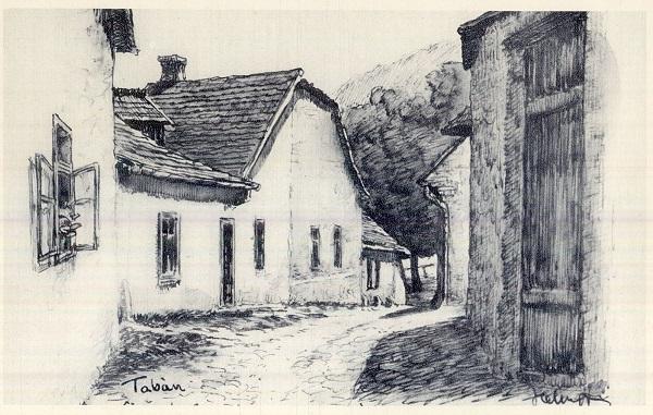 Tabán, Cipő utca - MKVM, CC BY-NC-ND