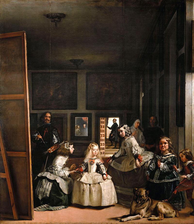 A királyi pár a tükörben (Wikipédia)