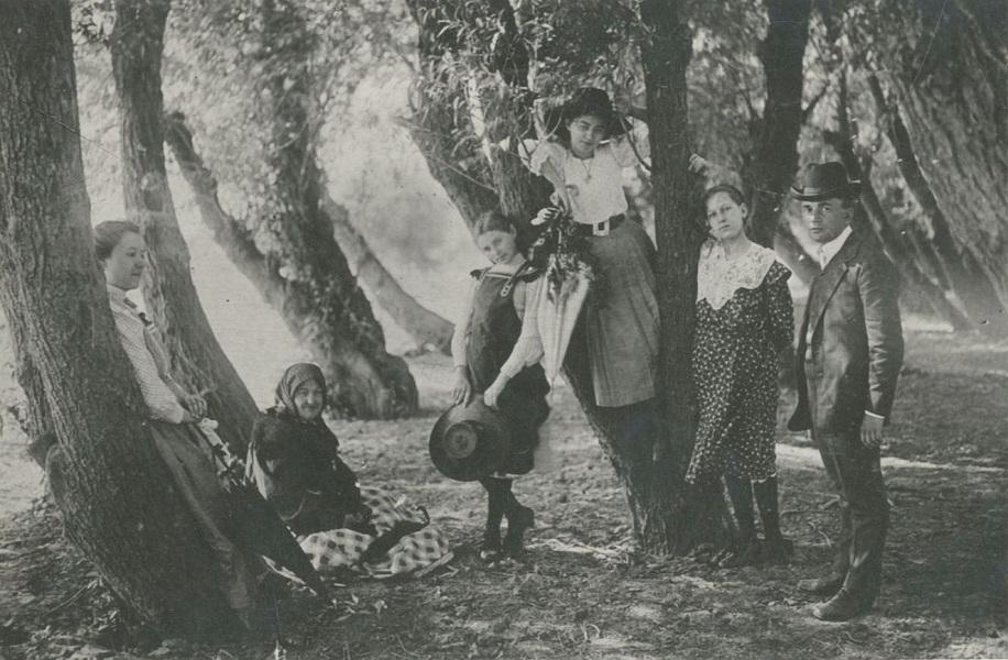 Kirándulás a Banga-dinnyeföldre (1908) - Tornyai János Múzeum, PDM