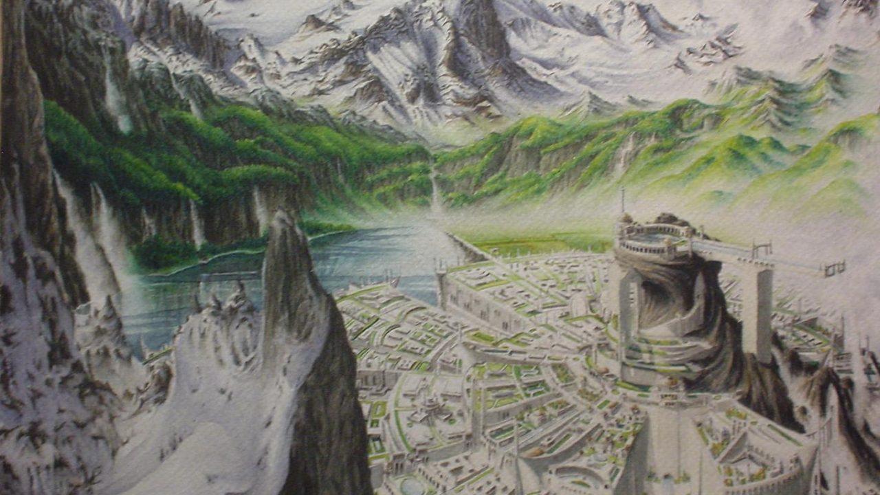 Gondolin városa a Sötét Úr, Morgoth áldozatává válik