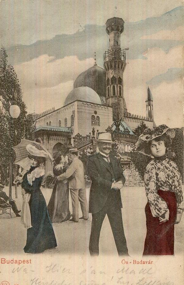 Ős-Budavár, képeslap (1896) - Magyar Kereskedelmi és Vendéglátóipari Múzeum, CC BY-NC-ND