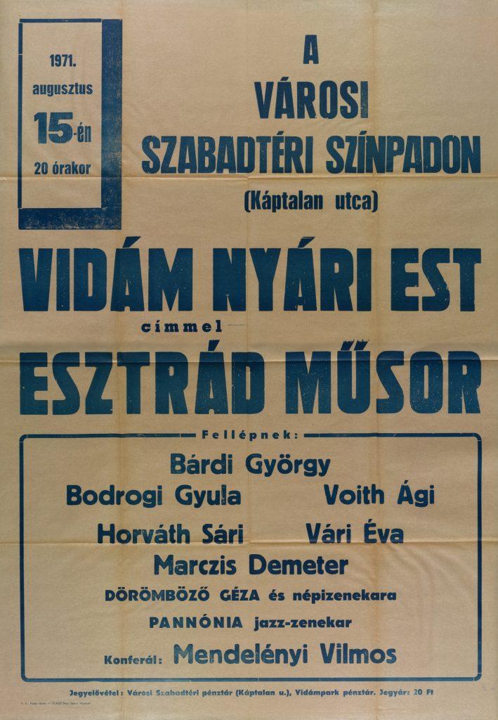 Mindenütt népszerűek voltak az esztrád műsorok (MaNDA)