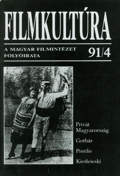 Pintilie filmjeiről ebben a Filmkultúrában is olvashat (MaNDA)