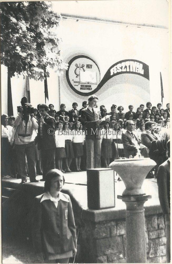 Fesztiválindulás Keszthelyen 1971-ben (MaNDA)