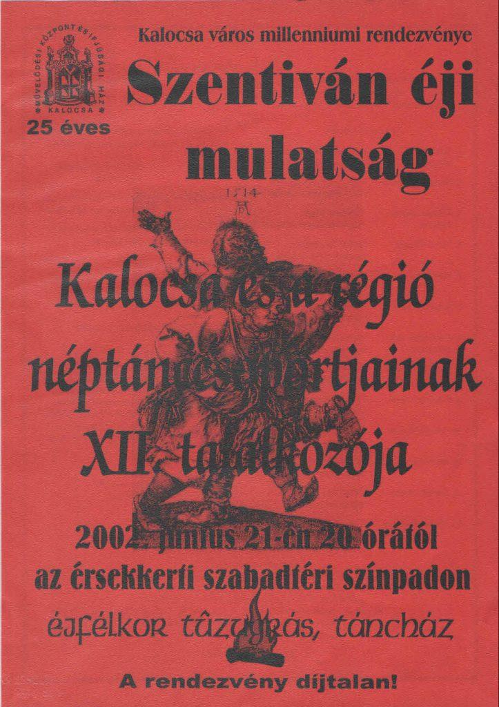 Kalocsán néptáncosok vették birtokba a szabadtéri színpadot (MaNDA)