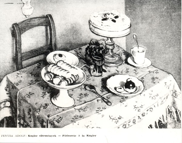 Fényes Adolf: Kugler sütemények - MKVM, CC BY-NC-ND