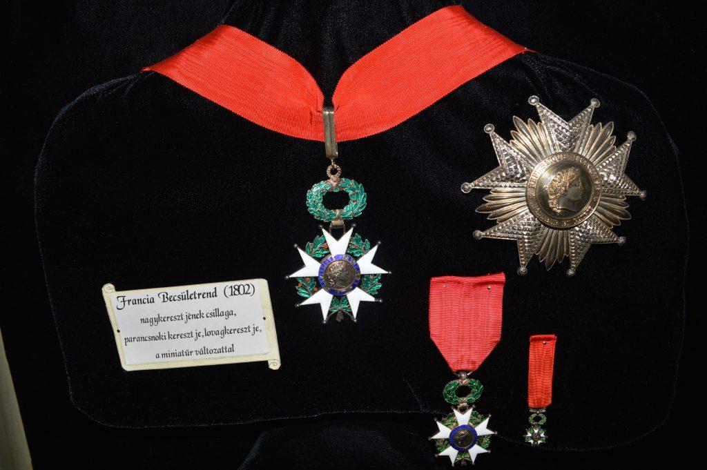 Francia Becsületrend Nagykereszti Csillaga, Parancsnoki Keresztje, lovagkereszt a miniatűrrel (MaNDA)
