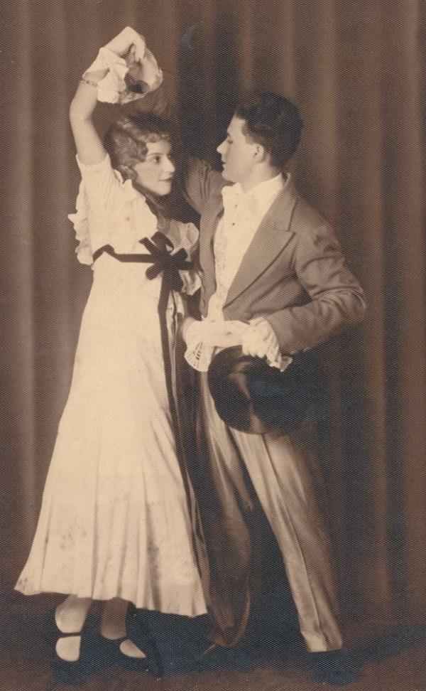 Táncos pár (1925 körül) - Városi Képtár Deák Gyűjtemény Székesfehérvár, CC BY-NC-ND